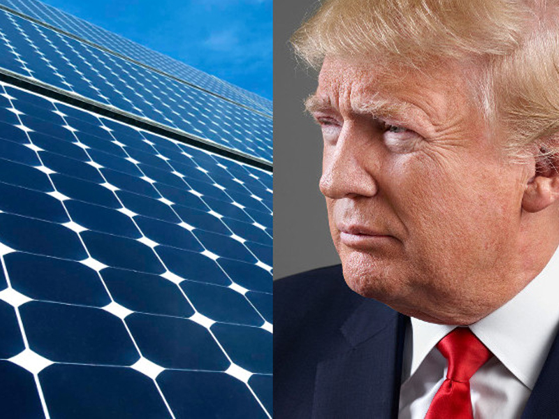 You should get Solar Panels right now because of Donald Trump