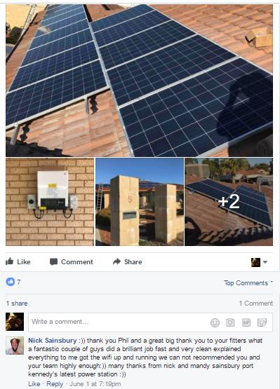 Solar Panel Installation in Port Kennedy