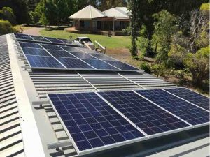 Solar installation in Jandakot
