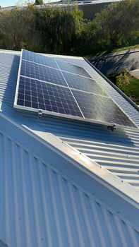 DOUBLE STORY SOLAR INSTALL, MELVILLE
