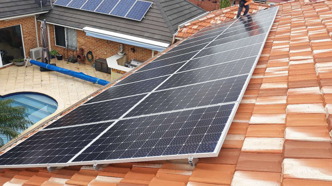 CANNING VALE SOLAR INSTALL